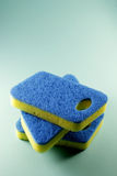 Scourers. Stack of Scourers on Seamless Background Royalty Free Stock Photography