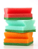 Scourers stacked Stock Photo