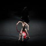 Scourging-Modern Ballet:Trollius chinensis Royalty Free Stock Image