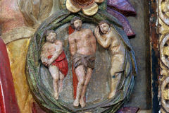 Scourging at the Pillar Royalty Free Stock Photo