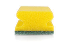 Scouring pad isolated Royalty Free Stock Images