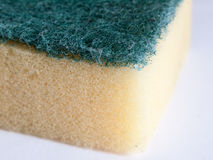 Scouring pad macro close up detail zoom Stock Image