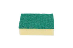 Scouring pads on white background Royalty Free Stock Photography