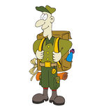 Scout illustration stock