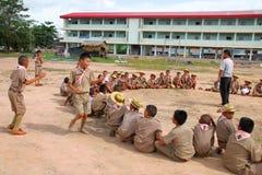 Scout activity Stock Photos
