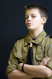 Scout with attitude Royalty Free Stock Images