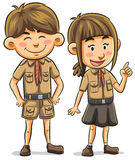 Scout Stock Photo