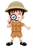 Scout de garçon illustration de vecteur