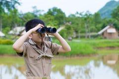 Scout de garçon Photos stock