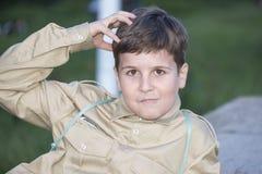 Scout de garçon photos libres de droits
