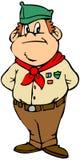 Scout de garçon Image stock