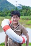 Scout de garçon asiatique Image stock