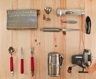 Scout de voyageur de kit de voyage Photo stock