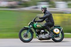 Scout indien de sport de motocyclette de cru de 1938 Photographie stock