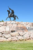 The Scout Statue at the Buffalo Bill Center of the West Royalty Free Stock Photography