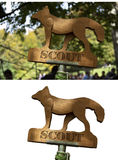 Scout totem Stock Image