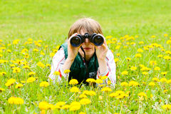 Scout royalty free stock photography