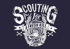 Free Scouting For A Fresh Kill Stock Image - 31482661