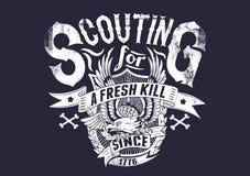 Scouting para uma matança fresca Imagem de Stock