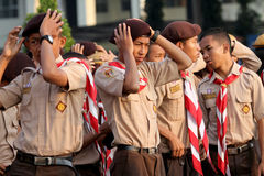 Scouts Stock Photography