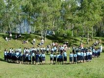 scouts d'Italien Photo libre de droits