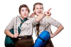 Scouts dans le studio Photos libres de droits