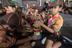Scouts Stock Image