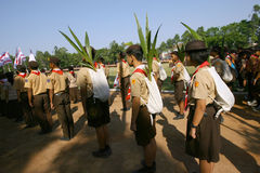 Scouts Royalty Free Stock Photo