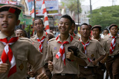Scouts Stock Images