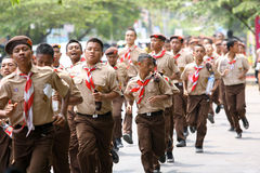 Scouts Royalty Free Stock Photography