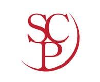 SCP élégant Logo Design Images libres de droits