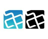 SCP Logo Design Set. Aı 10 Supported royalty free illustration