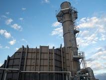 SCR för gasturbin och bunt arkivfoto