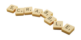 scrabble Fotografia Royalty Free