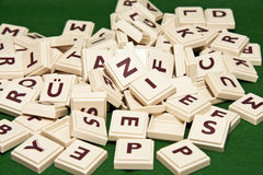 Scrabble Photos libres de droits