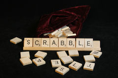 scrabble Obraz Royalty Free