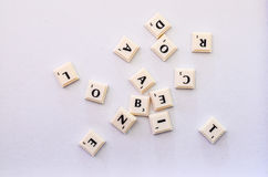 scrabble Royaltyfri Bild
