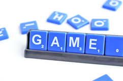 Scrabble Royalty Free Stock Image