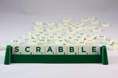 Scrabble game Stock Image