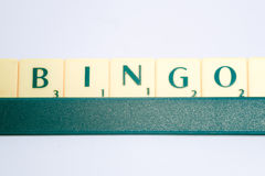 Scrabble letters Royalty Free Stock Photos