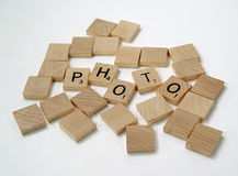 Scrabble Pieces 2. Photo of Scrabble Pieces Spelling The Word Photo - Part of Series royalty free stock photo
