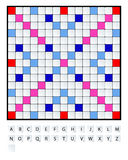 Scrabbleuppsättning Arkivfoton