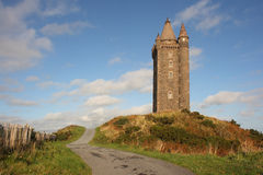 Scrabo Tower stock photo