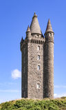 Scrabo tower in Northern Ireland Royalty Free Stock Image