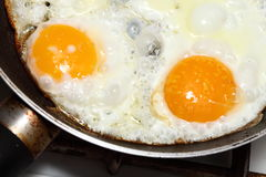 Scramble eggs Royalty Free Stock Images