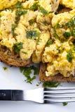 Scrambled egg Stock Photos