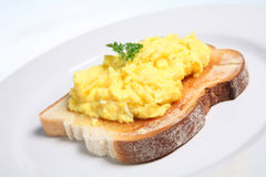 Scrambled Egg Royalty Free Stock Photography