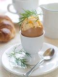 Scrambled egg Stock Photography