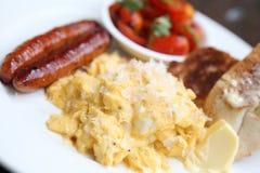 Scrambled egg Royalty Free Stock Photo