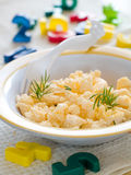 Scrambled Eggs Stock Image
